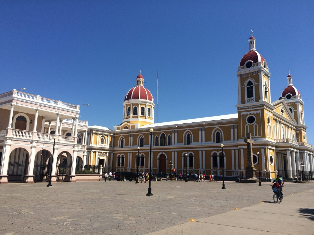 5 Awesome Things to do in Nicaragua, Nicaragua, Granada, cathedral