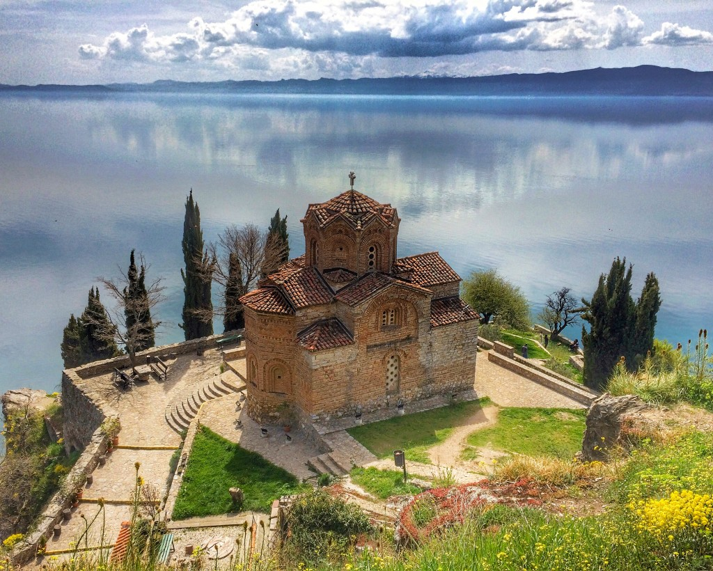 Ohrid, Macedonia, Church of Sveti Jovan at Kaneo