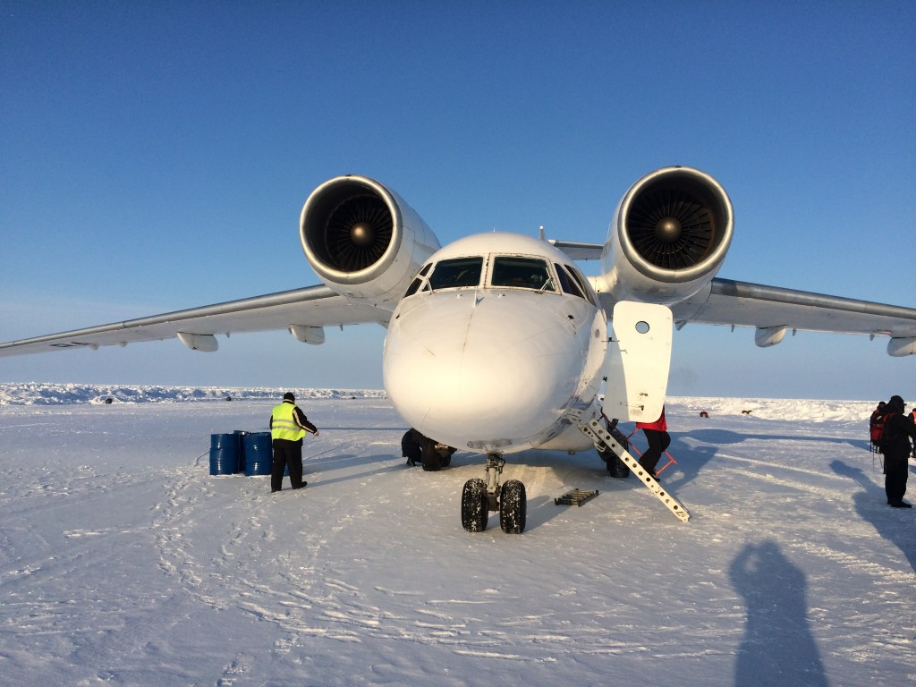 North Pole, The North Pole, How I made it to the North Pole, Antonov 74, Barneo