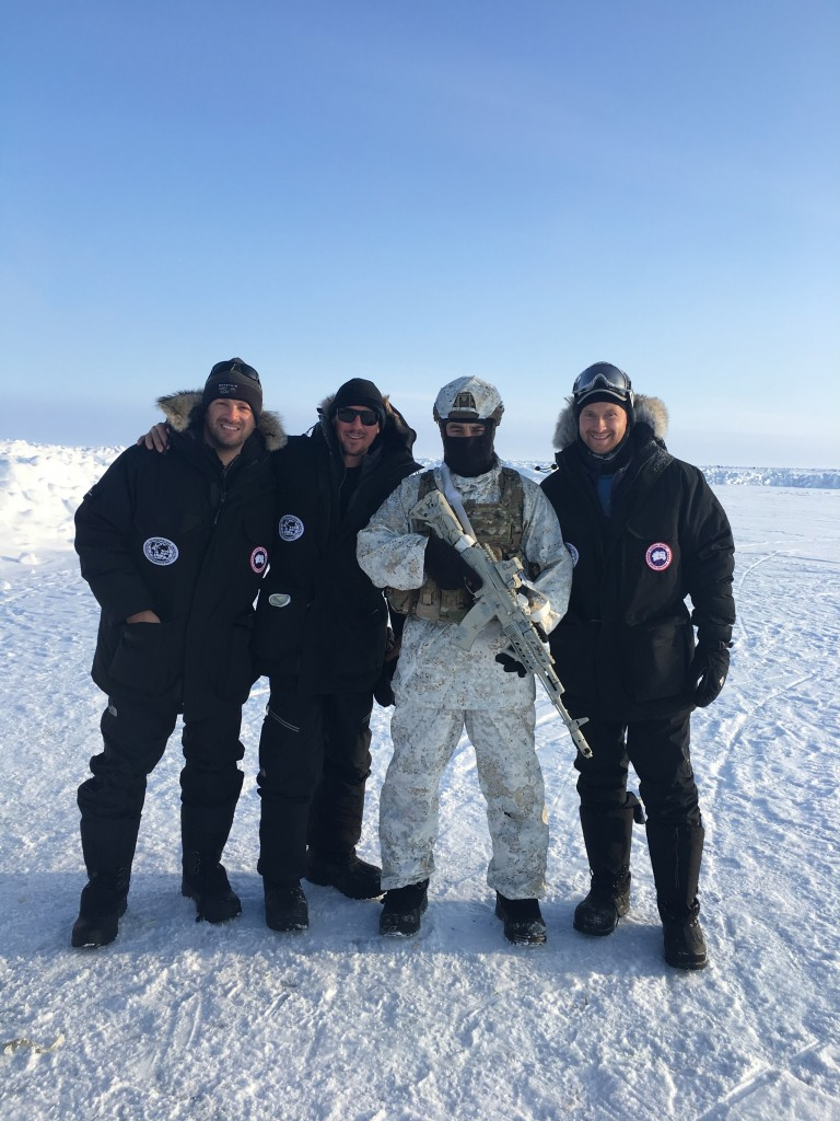 North Pole, The North Pole, How I made it to the North Pole, guard