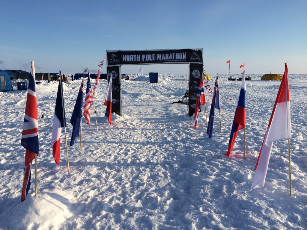North Pole, The North Pole, How I made it to the North Pole, North Pole Marathon