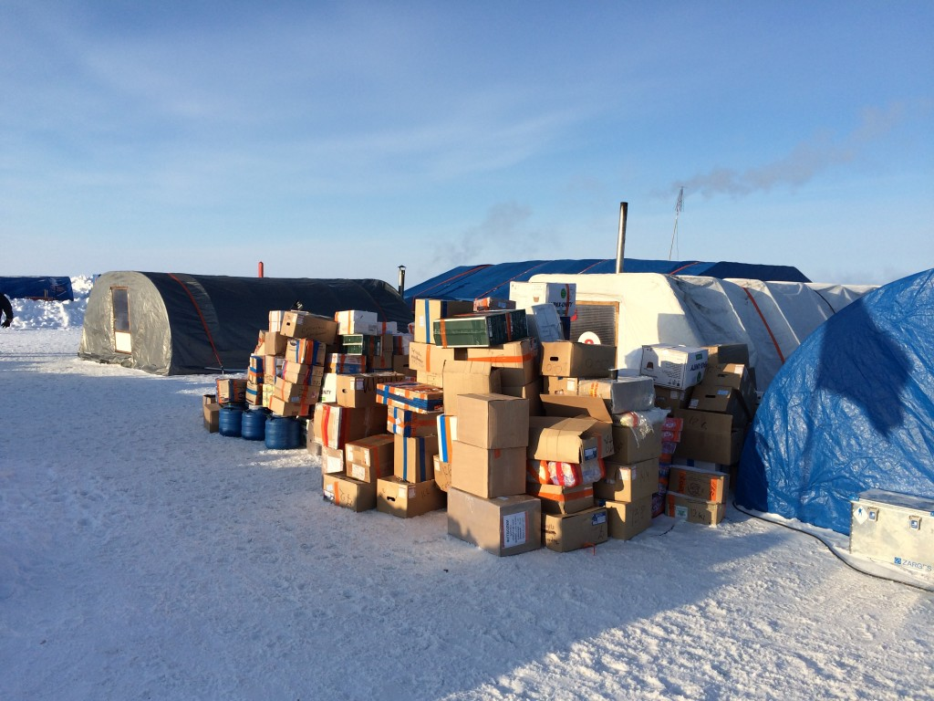 North Pole, The North Pole, How I made it to the North Pole, supplies, Barneo
