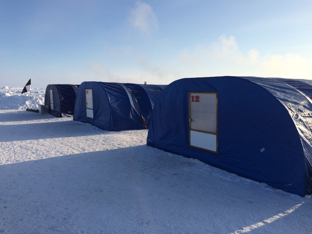 North Pole, The North Pole, How I made it to the North Pole, Barneo, tents