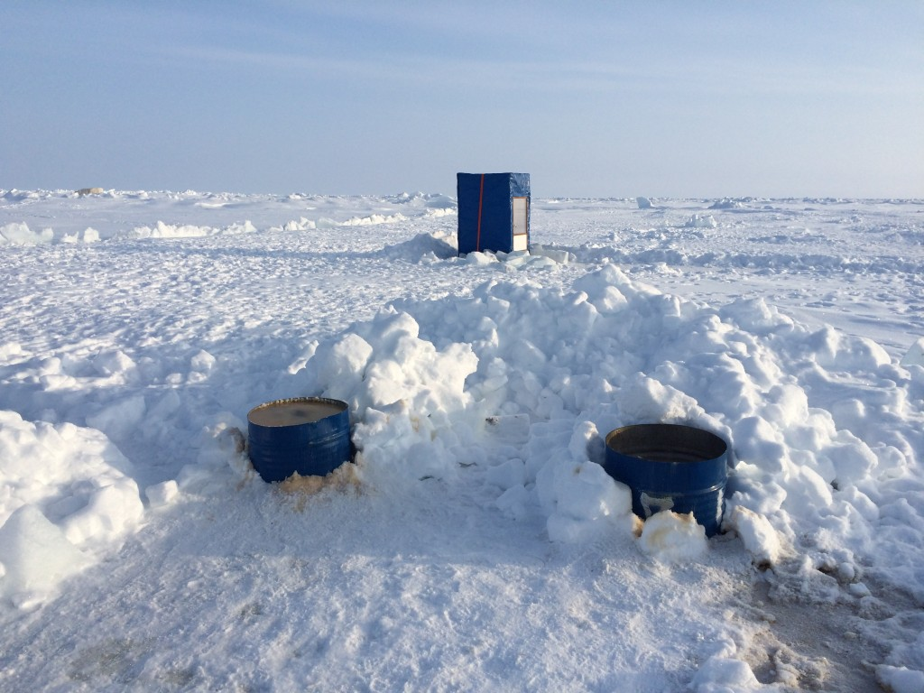 North Pole, The North Pole, How I made it to the North Pole, toilets