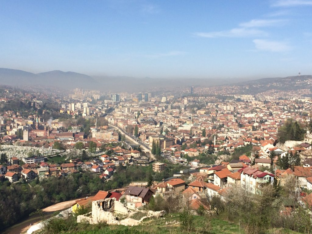 Bosnia Road Trip, A Bosnia Road Trip Has 2 Can't Miss PLaces, Bosnia, Bosnia Herzegovina, Sarajevo, view