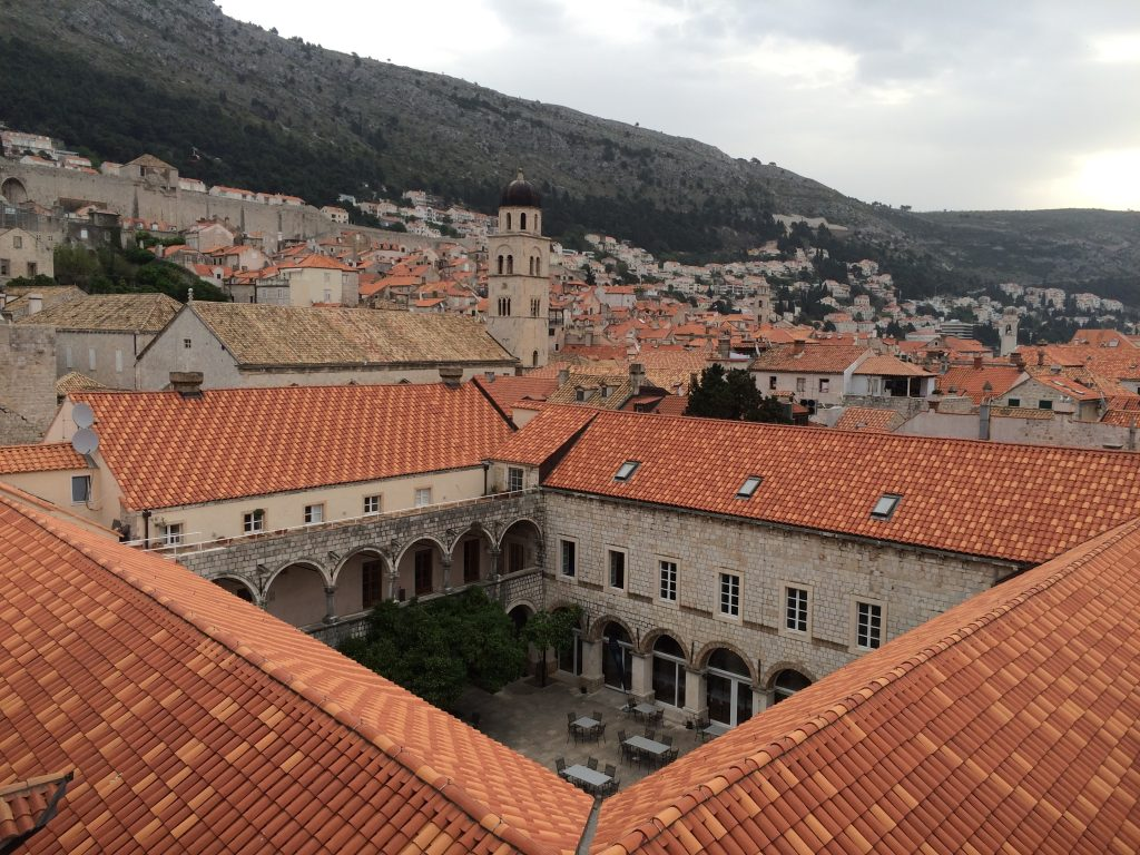 How I Spent a Day in Dubrovnik, Croatia, Dubrovnik, A Day in Dubrovnik, Old Town roofs
