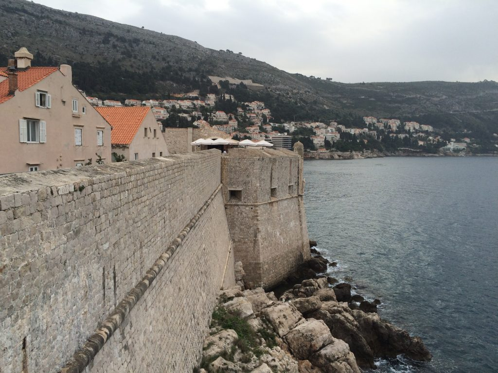 How I Spent a Day in Dubrovnik, Croatia, Dubrovnik, A Day in Dubrovnik, wall