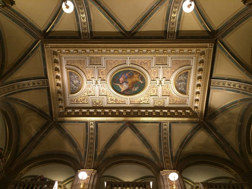 5 Awesome Things to do in Vienna, Austria, Vienna, Wien, Opera House, ceiling