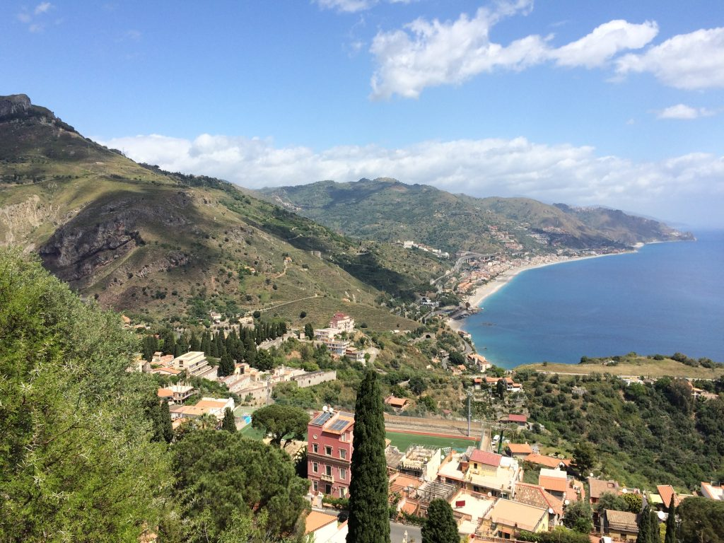3 Places Not to Miss in Sicily, Sicily, Taormina, Teatro Greco, view