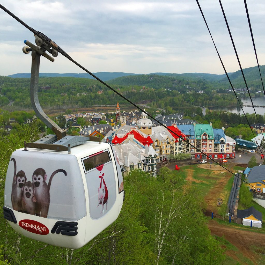 5 awesome things to do in Mont-Tremblant, Quebec, Canada, gondola