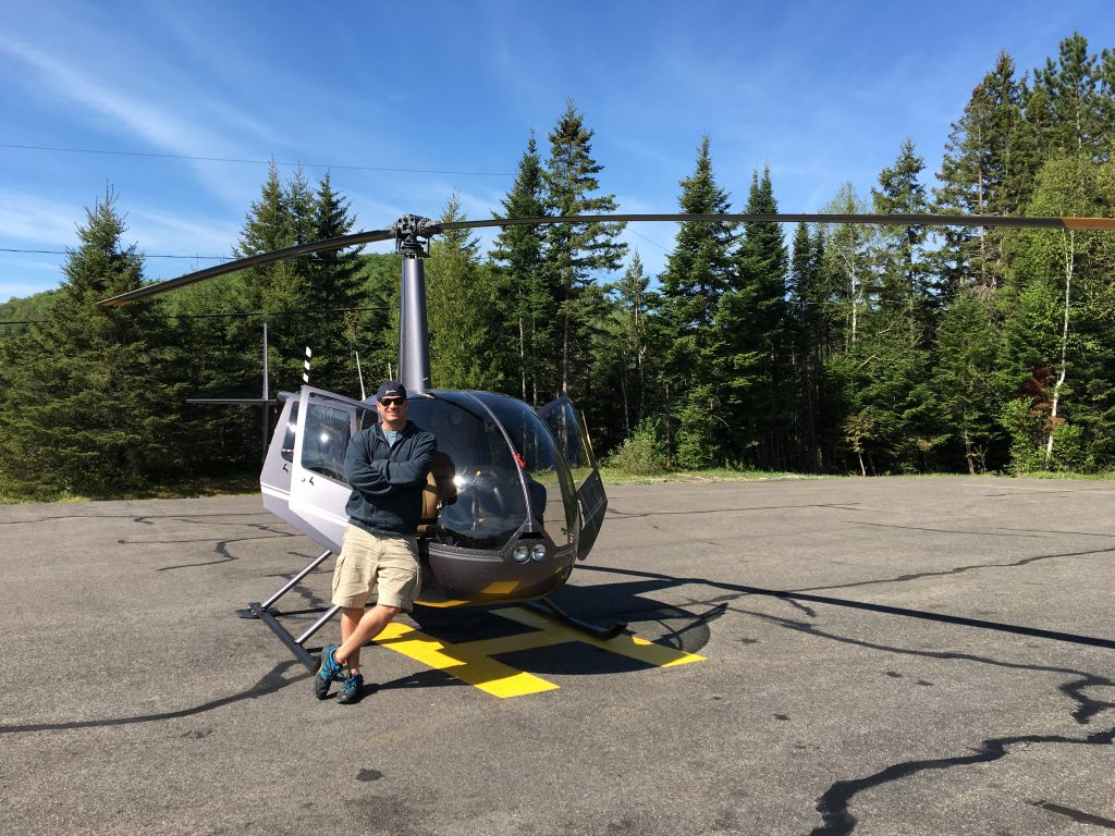5 awesome things to do in Mont-Tremblant, Quebec, Canada, Lee Abbamonte, helicopter