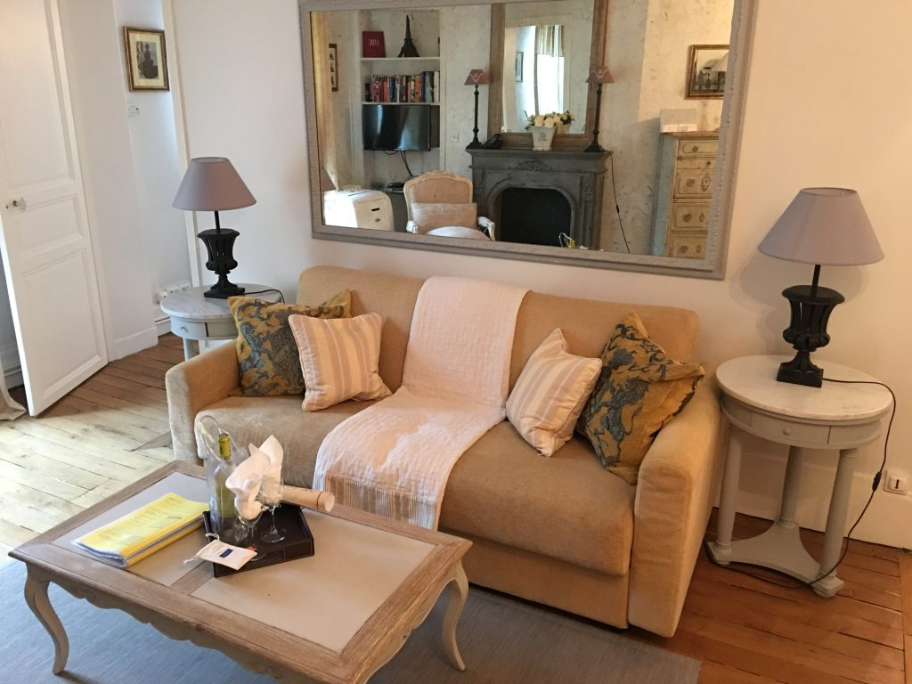 Living Room, Paris Perfect Vacation Rentals, Paris, France