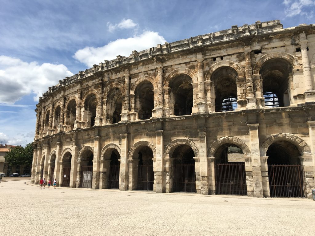 Euro 2016 Road Trip in France, Euro 2016 Road Trip, France, Euro 2016, UEFA Euro 2016, Nimes, arena of Nimes