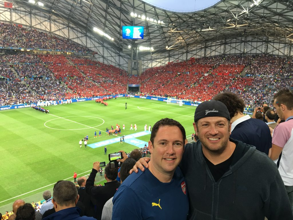 My Year in Travel 2016, Euro 2016, France