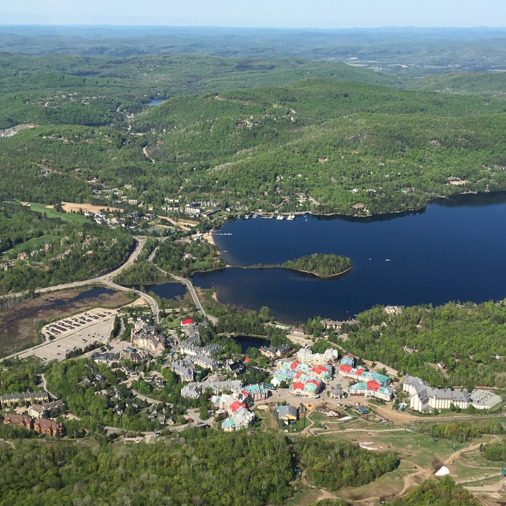 5 awesome things to do in Mont-Tremblant, Quebec, Canada, helicopter view