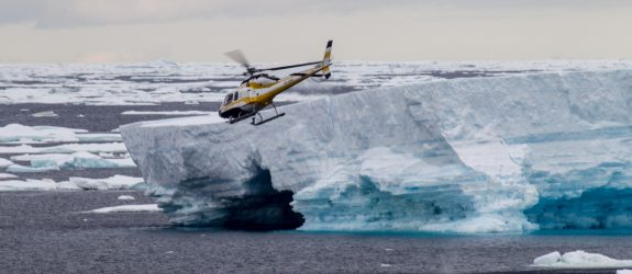 Experience the Spectacular Ross Sea and Antarctica, Antarctica, Oceanwide Expeditions, MV Ortelius, Ross Sea, glacier, helicopter