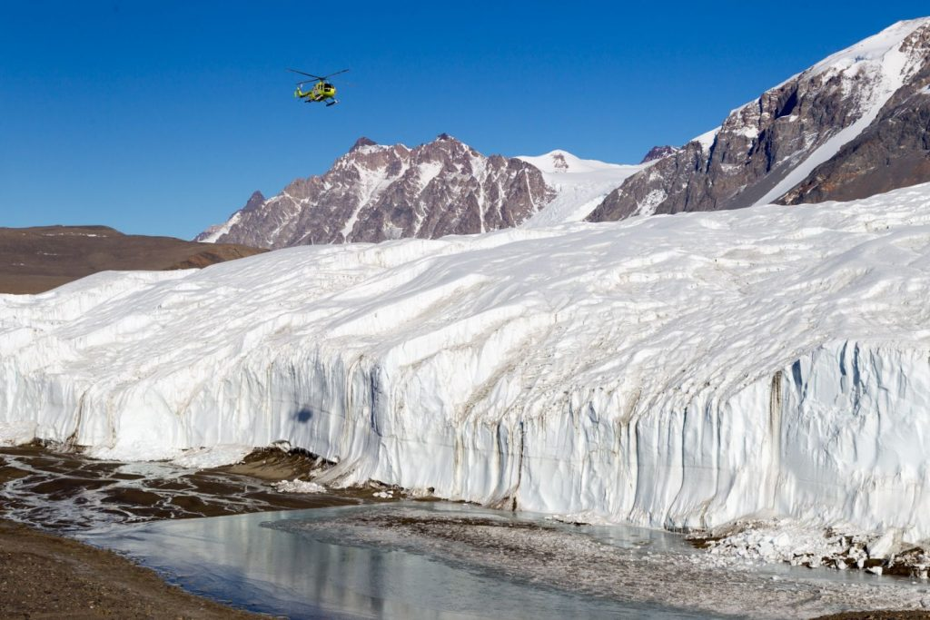 Experience the Spectacular Ross Sea and Antarctica, Antarctica, Oceanwide Expeditions, MV Ortelius, Ross Sea, helicopter