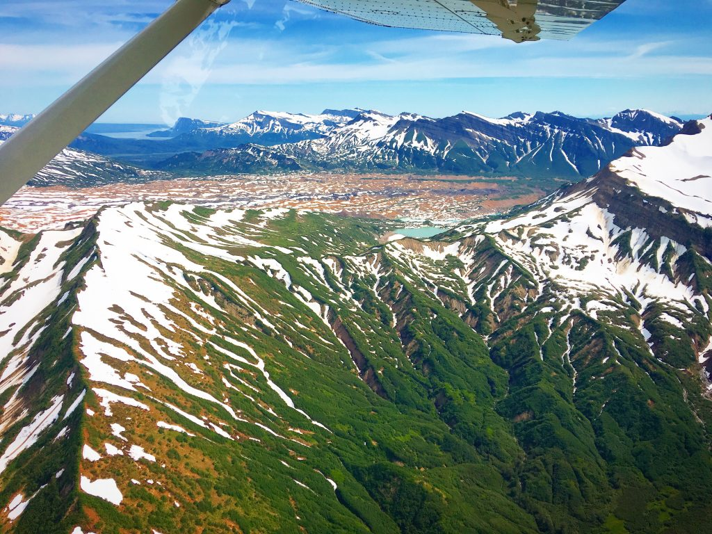 Day Trip to Lake Clark National Park, Lake Clark National Park, NPS, Alaska, flight, ,mountains