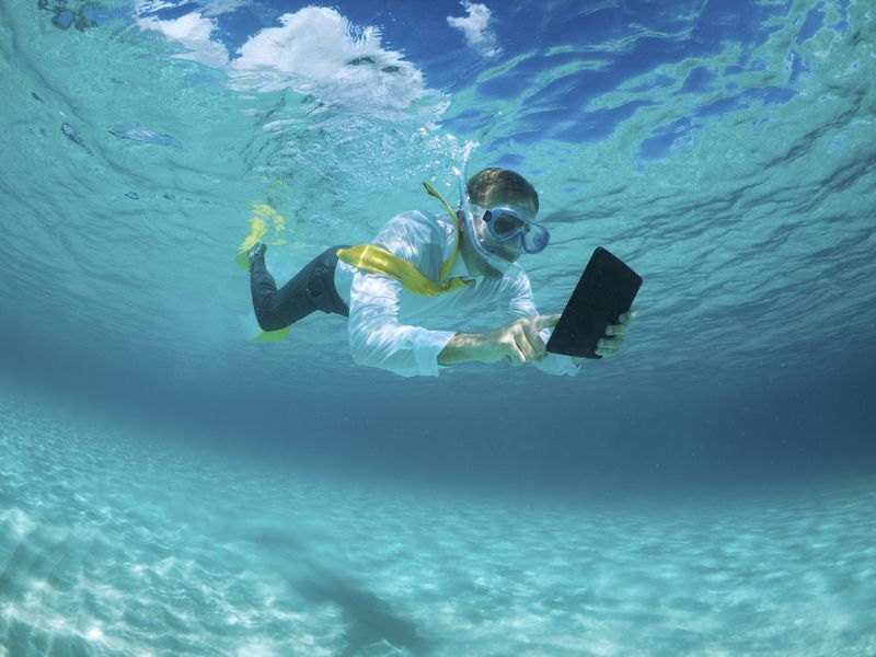 170 Million Americans Have Not Taken a Vacation in the Last Year, Allianz Travel Insurance, scuba
