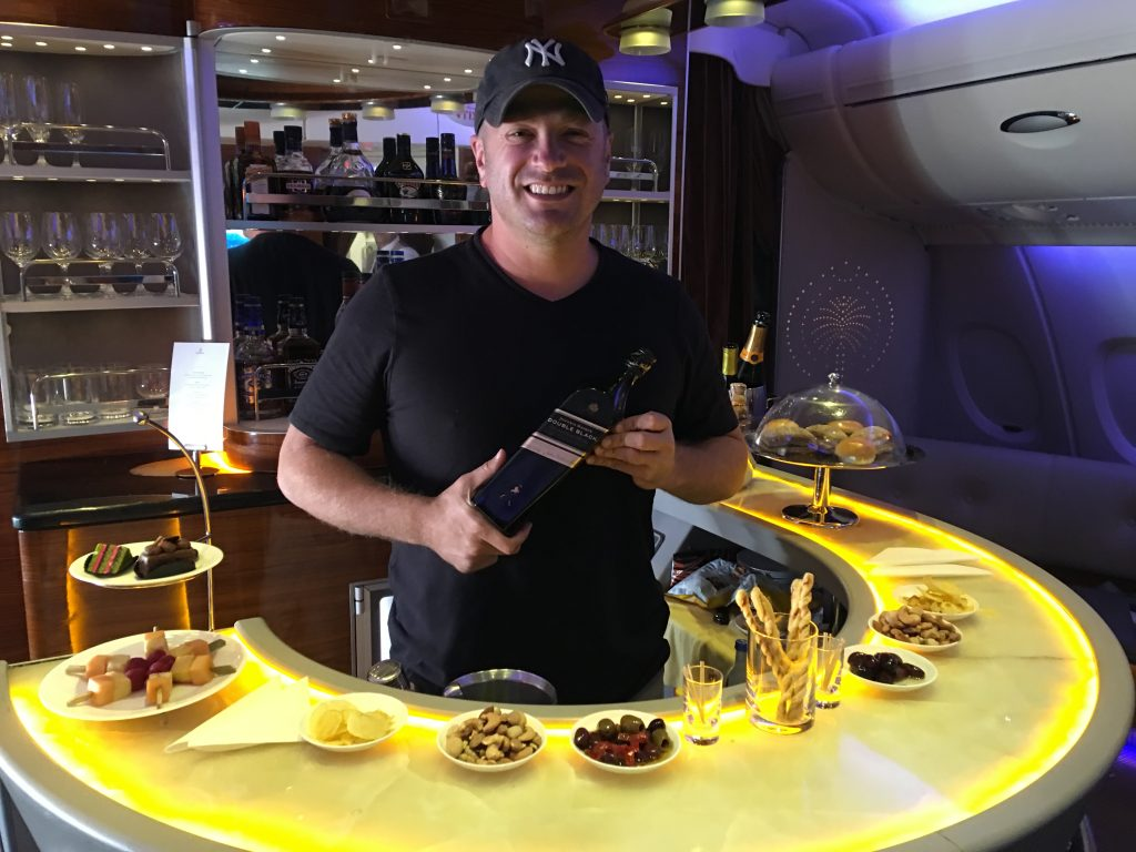 A Week on a Mega Yacht in the Maldives, Emirates, bartending