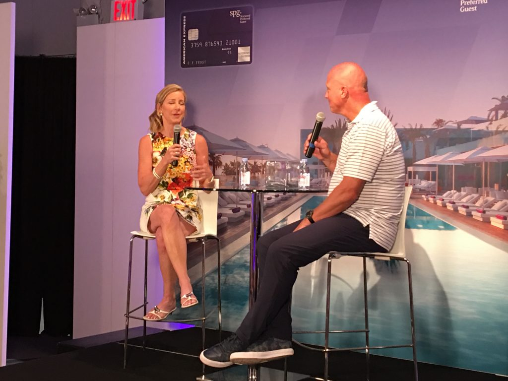 The 2016 US Open With SPG Amex, SPG Amex, Starwood, Amex, American Express, US Open, US Open with SPG Amex, CHris Evert, Jensen Brothers