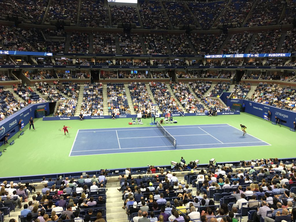 The 2016 US Open With SPG Amex, SPG Amex, Starwood, Amex, American Express, US Open, US Open with SPG Amex, Serena Williams, Simona Halep