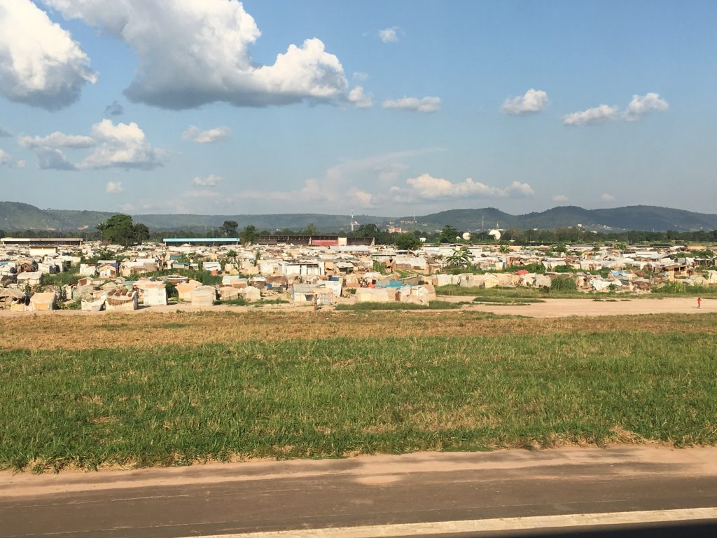 My Experience in the Central African Republic, Central African Republic, Bangui, airport, shantytowns