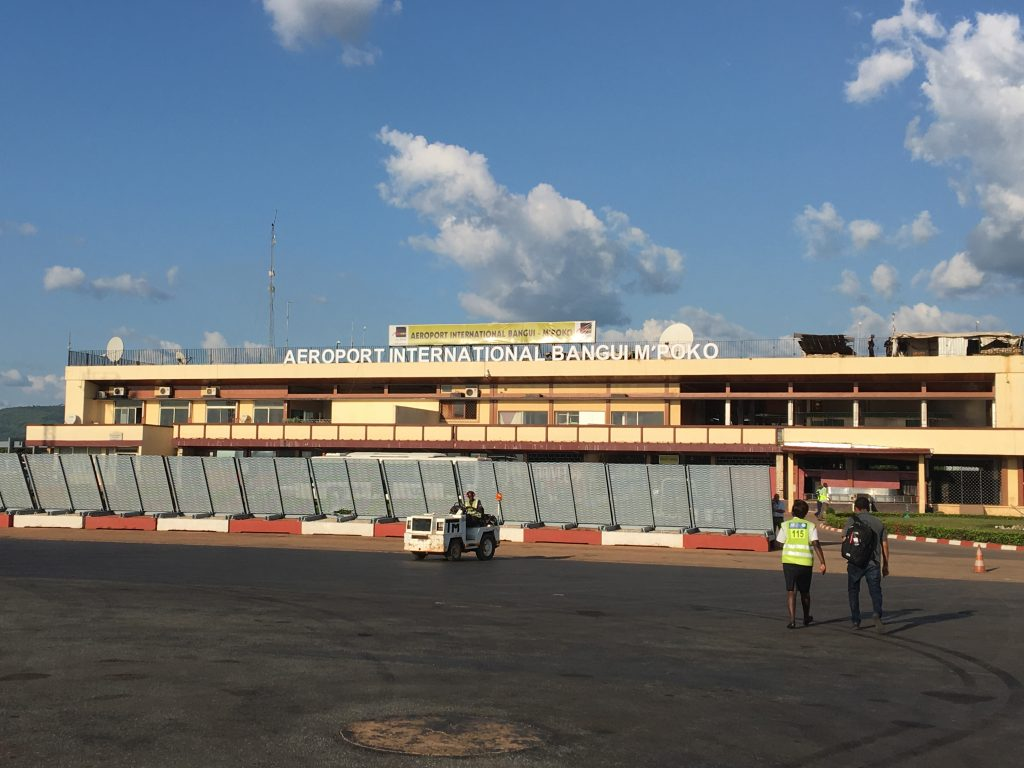 My Experience in the Central African Republic, Central African Republic, Bangui, airport