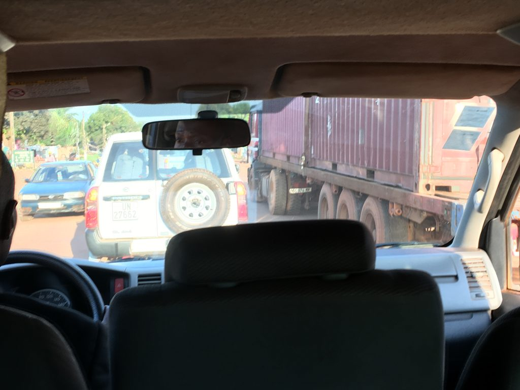 My Experience in the Central African Republic, Central African Republic, Bangui, driver
