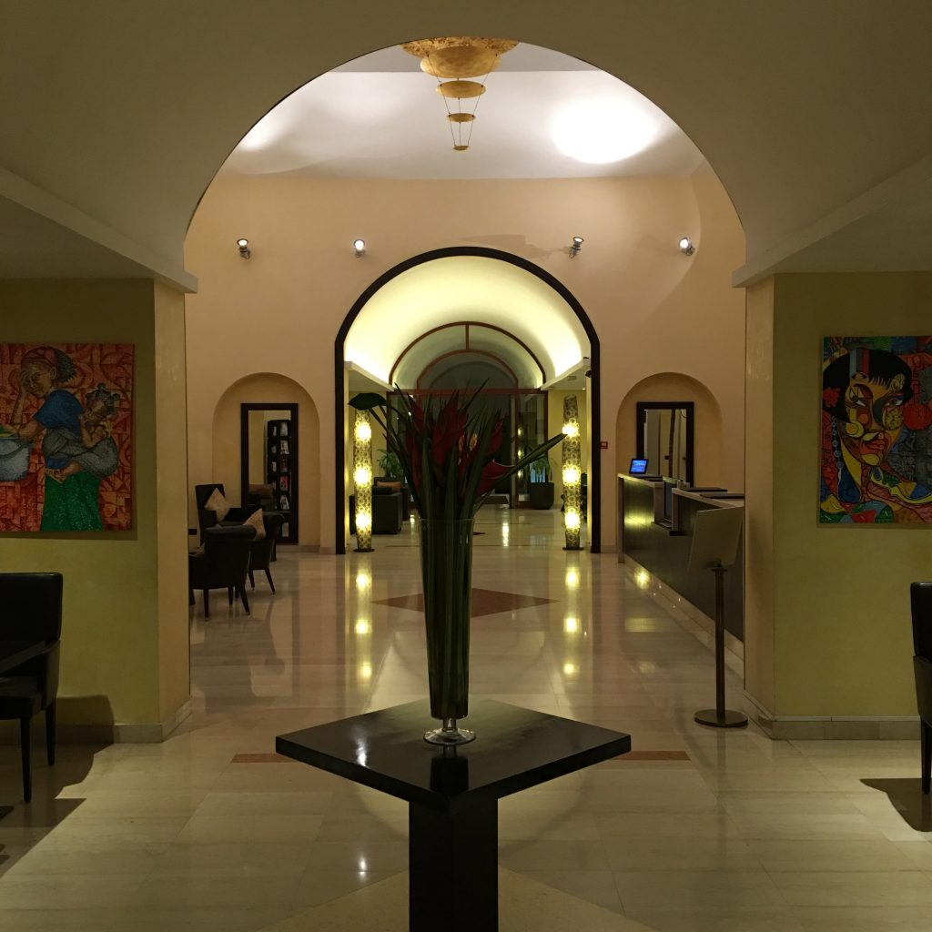 Equatorial Guinea is the Weirdest Country in the World, Equatorial Guinea, Malabo, Sofitel lobby