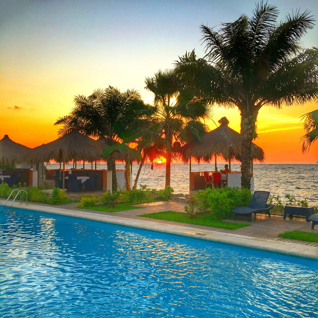Equatorial Guinea is the Weirdest Country in the World, Equatorial Guinea, Bata, Hotel Carmen, Sunset