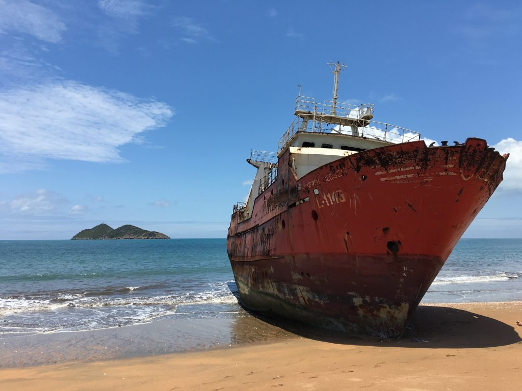3 days in Sao Tome and Principe, Sao Tome and Principe, Sao Tome, shipwreck