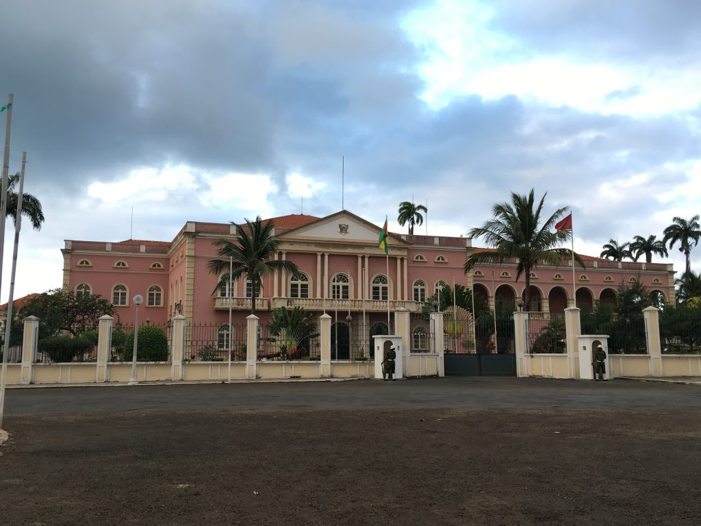 3 days in Sao Tome and Principe, Sao Tome and Principe, Sao Tome, Presidential Palace