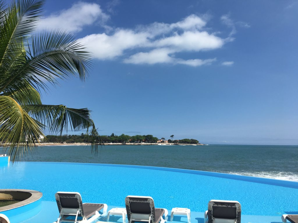 3 days in Sao Tome and Principe, Sao Tome and Principe, Sao Tome, Pool, Pestana Hotel