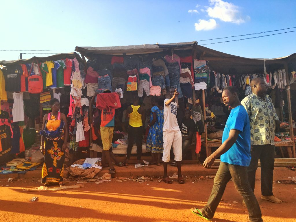 My Experience in the Central African Republic, Central African Republic, Bangui, street