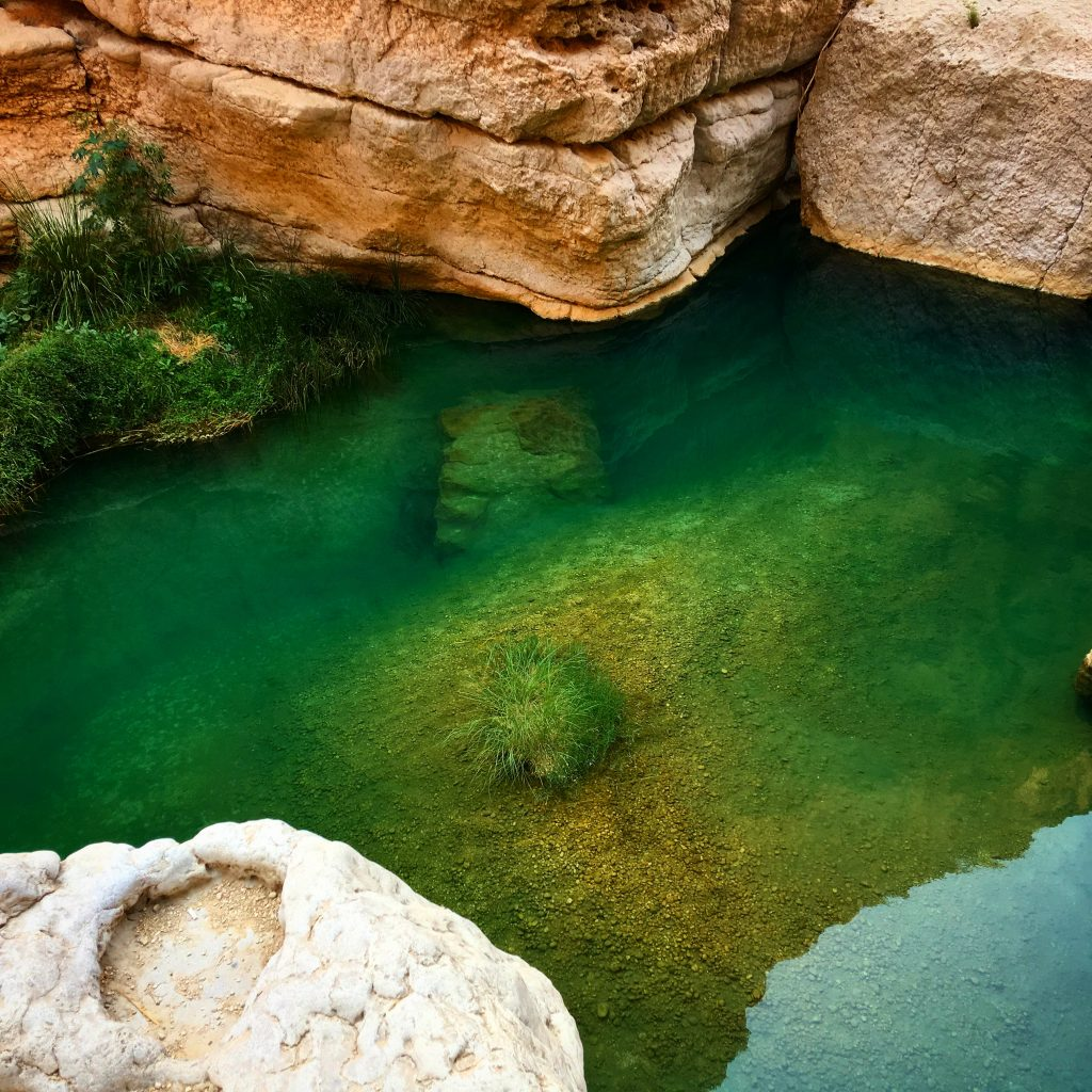 5 Awesome Things to do in Muscat, Oman, Muscat, Azamara, Middle East, Wadi Shab, emerald water