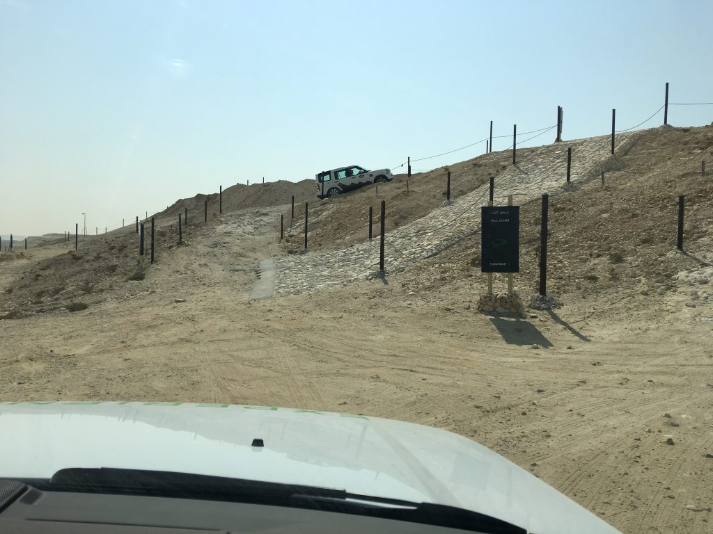 A Day in Bahrain, Bahrain, Manama, Land Rover experience, obstacle course