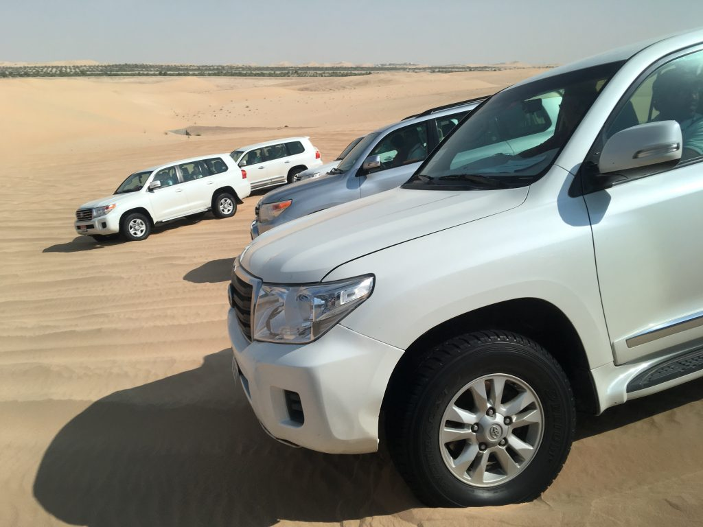 two things you must do in Abu Dhabi, Abu Dhabi, Emirates, United Arab Emirates, desert safari, 4x4, desert, safari, land cruisers