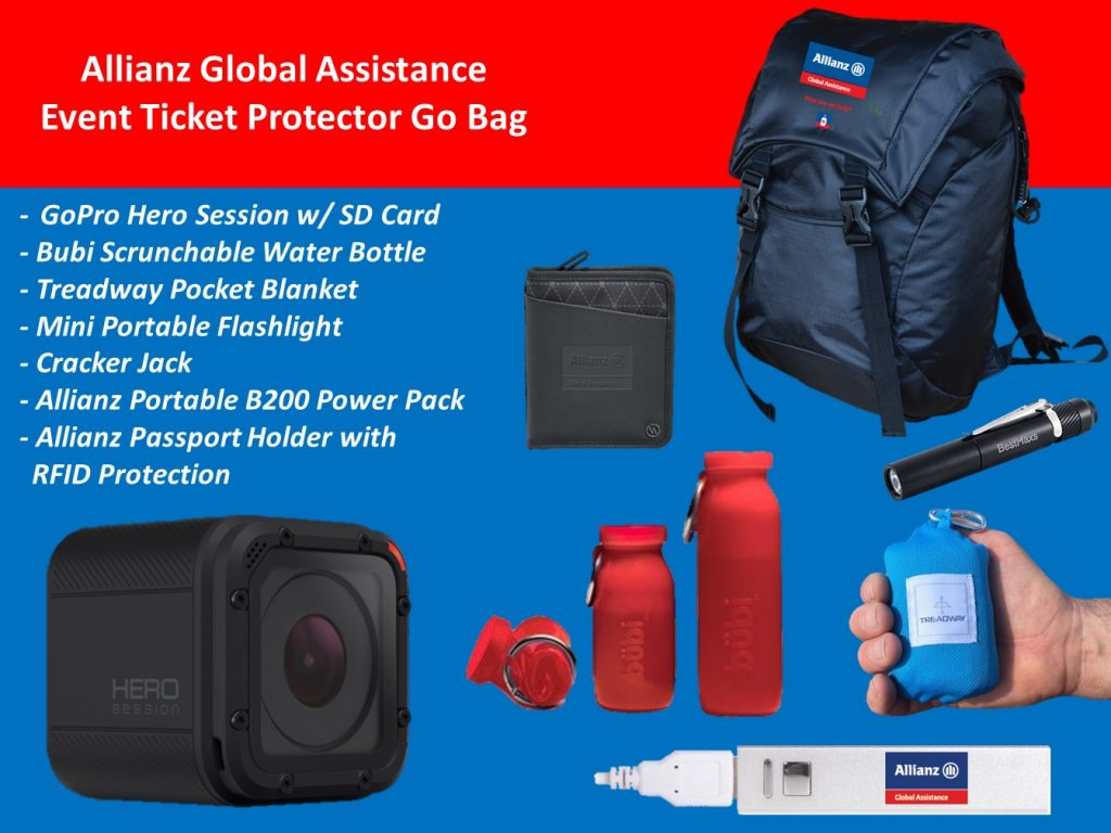 Win a GoPro Hero in My Go Bag Giveaway, Allianz Travel Insurance, Allianz, Go Bag, giveaway, GoPro