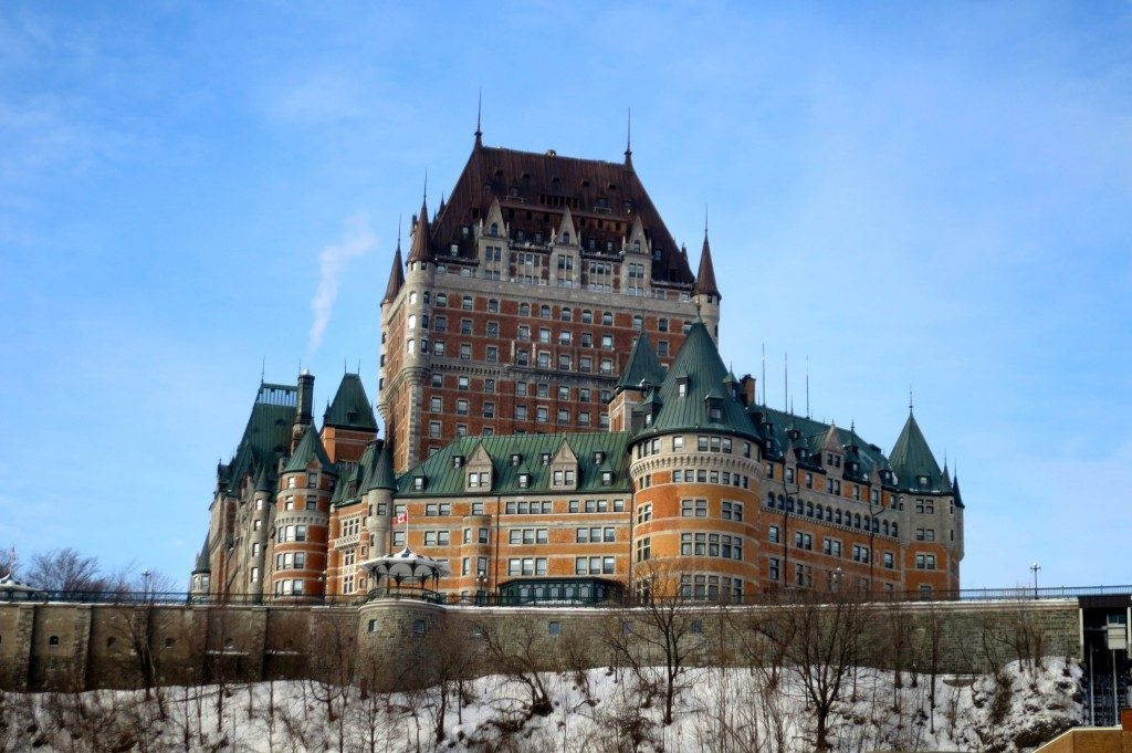 The 30 Best Hotels in the World, Chateau Frontenac