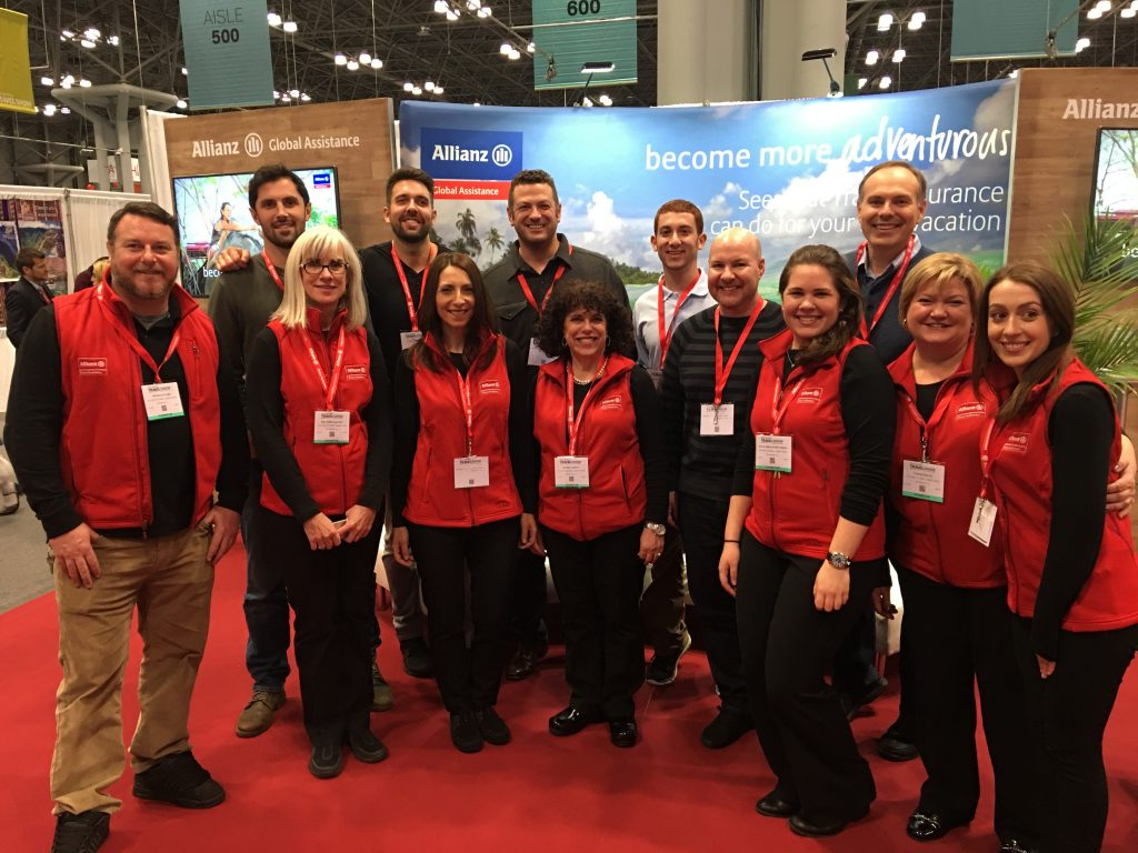 The 2017 New York Times Travel Show, New York, New York Times Travel SHow, Allianz Travel Insurance