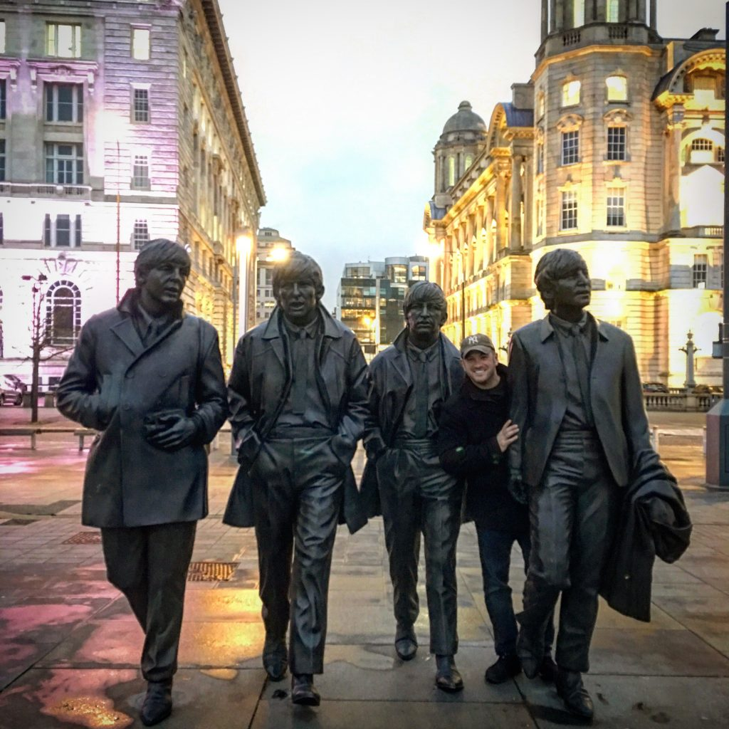 How I Spent 3 Days in Liverpool, Liverpool, England, United Kingdon, UK, Britain, Great Britain, Beatles statue