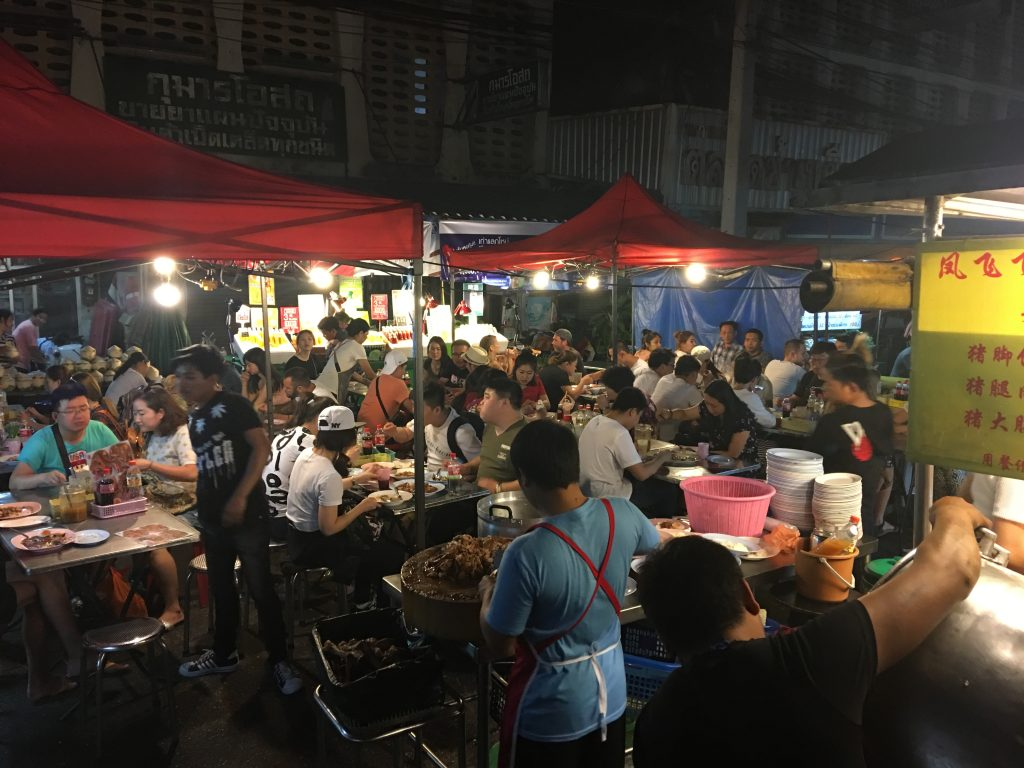 My First Trip to Chiang Mai, Thailand, Chaing Mai, food tour, night market