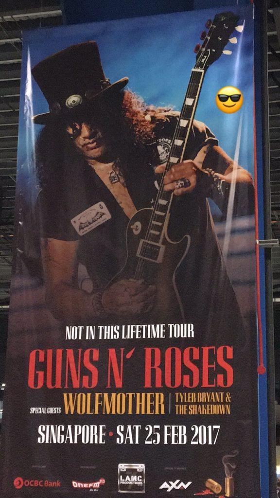 Singapore Has It All, Singapore, Guns N' Roses