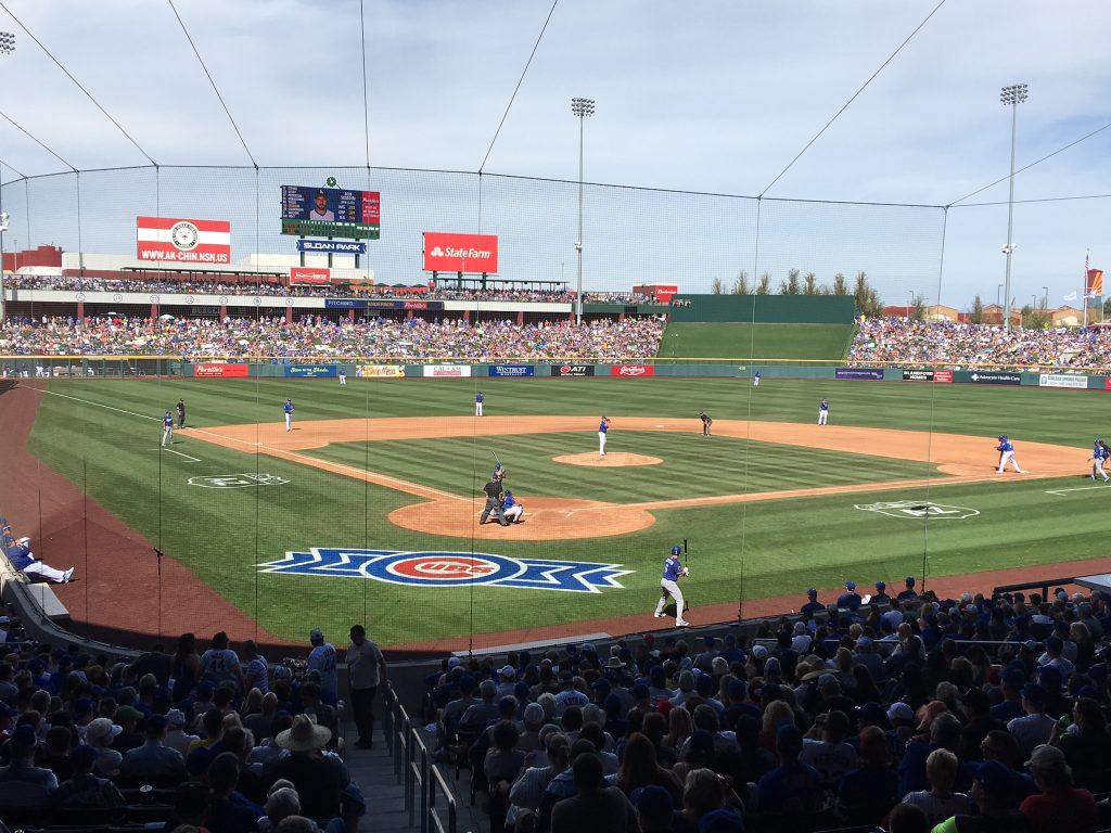 Long Weekend in Scottsdale, Scottsdale, Arizona, Phoenix, Sloan Park, Mesa, Cubs