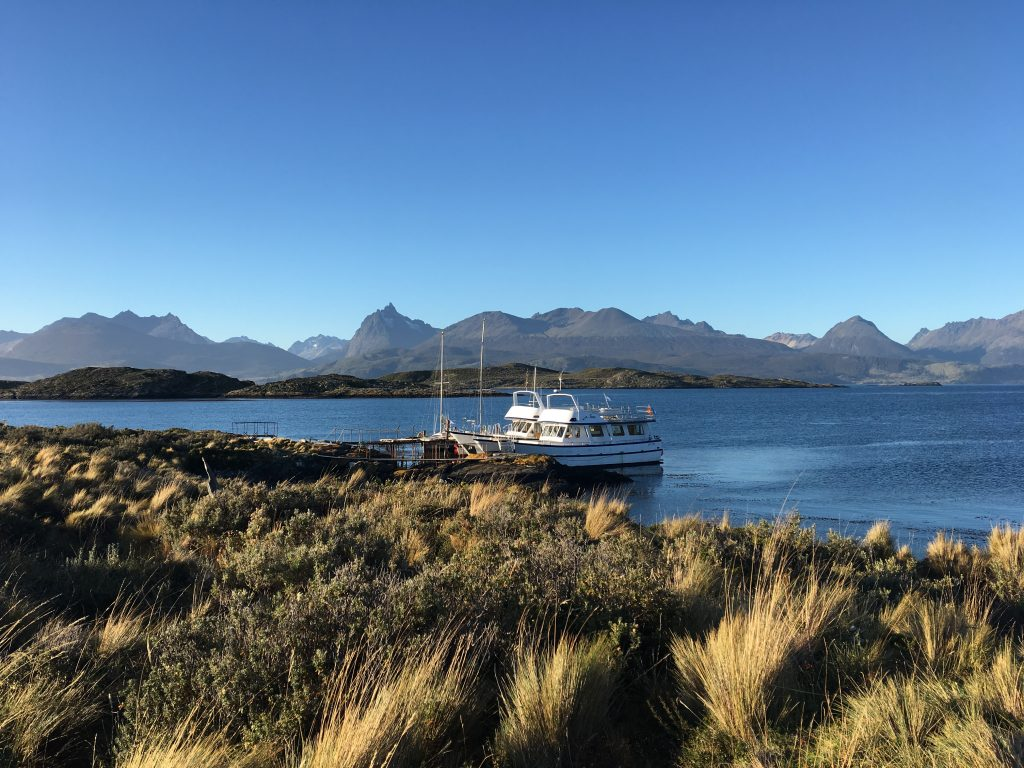 Two Days in Ushuaia, Argentina, Ushuaia, Beagle Channel Tour, boat