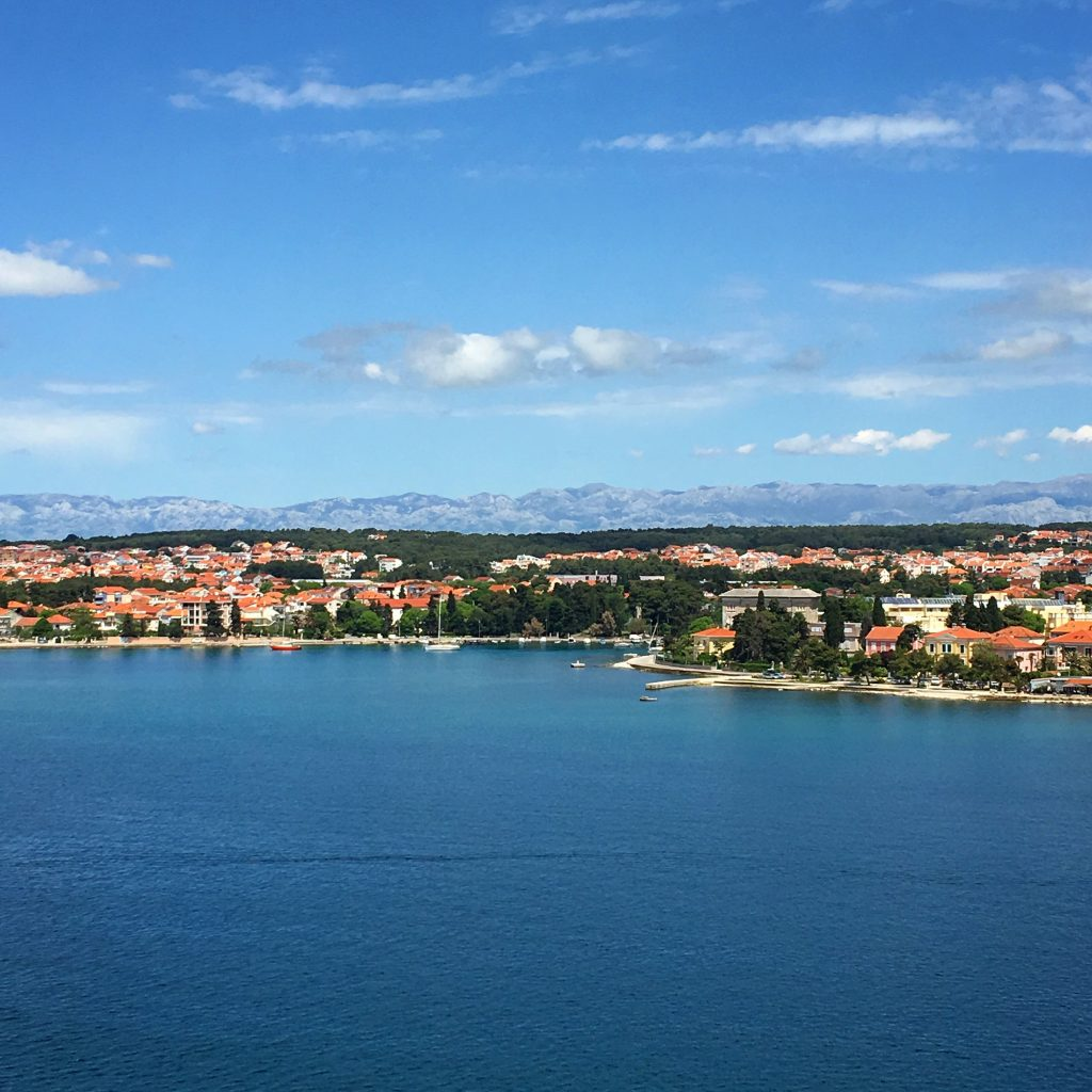 Zadar, Croatia is a Very Pleasant Place to Visit, Croatia, mountains