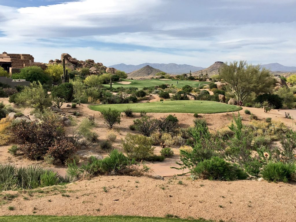 36 Holes in Scottsdale, Arizona, Scottsdale, Troon North, Mountain Shadows
