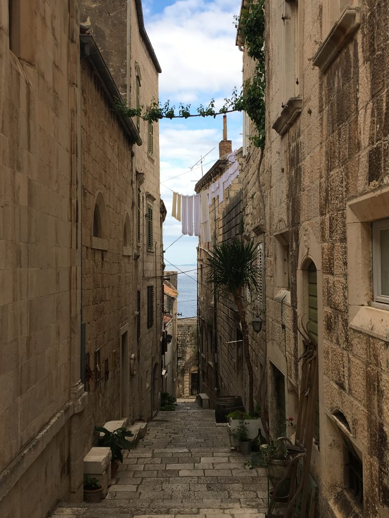 My Day in Korcula, Croatia, Korcula, old town
