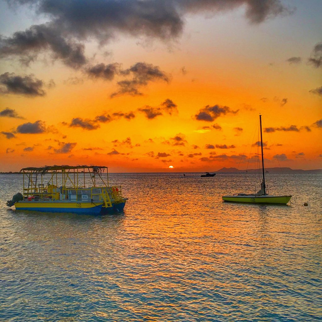 2 Days in Bonaire, Bonaire, Caribbean, sunset